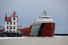 Arthur Anderson, sister ship of the Edmund Fitzgerald. Can often be seen in the shipyard in sturgeon bay.