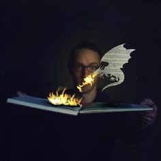 Joel Robison's Whimsical Photographic Abstractions of the Joy of Reading | Brain Pickings