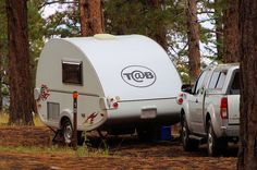 T@B teardrop trailer, North Rim Campground, Grand Canyon National Park, Arizona, October 4, 2011 (pinned by haw-creek.com)