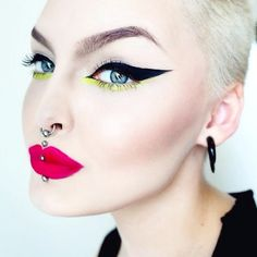 Despite all the online attention surrounding Rose, she humbly describes herself as a weirdo just trying to have fun. More: http://blog.furlesscosmetics.com/rose-shock/