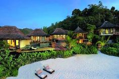 Constance Lemuria Resort of Praslin, Seychelles Image