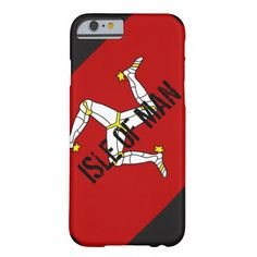 Flag of the Isle of Man Barely There iPhone 6 Case