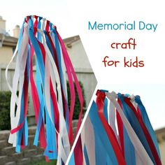 Crafting with Kids: Memorial Day