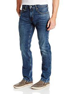 Levi's Men's 511 Slim Fit Jean, Black Stone - Stretch, 34W x 32L