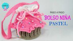 Tutorial bolso niña - cupcake