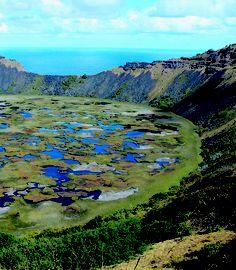 Crater Volcano