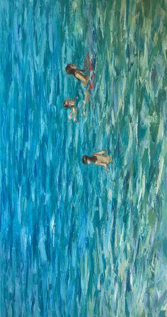 Oil on canvas Seaside, Oil On Canvas, Painting, Art, Art Background, Painted Canvas, Painting Art, Paintings, Kunst