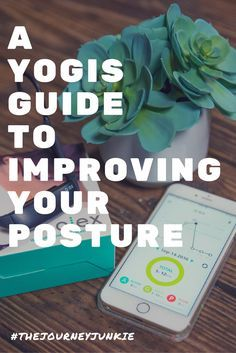 A Yogis Guide to Improving Your Posture - Pin now, improve your posture with the ALEX Posture coach now! #ad #BeatTextNeck