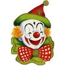 vintage clown - Buscar con Google