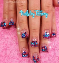 Acrylic nails by Tiffany @ A New Day Spa & Salon