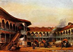 Bucharest, World, Amazing, Painting, Travel, Vintage, Art, Art Background, Viajes