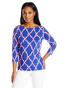 Lilly Pulitzer Women's Alida Boatneck Top