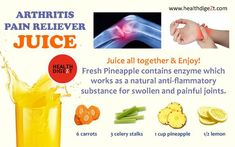 Arthritis Pain Reliever Juice