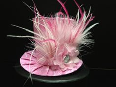 Simply Sweet Pink Mini Top Hat Great for by daisyleedesign on Etsy, $25.95