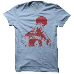 Dr. J Julius Erving T-Shirt-Multiple Colors and Styles-- $20.00