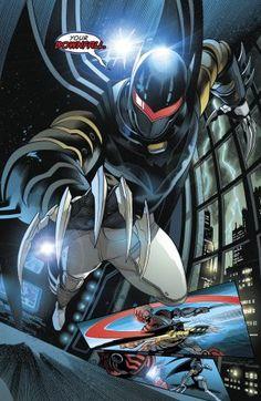Azrael As Batman Azrael Dc Comics, Dc Comics Art, Red Batman, Batman City, Batman Robin, Gotham City, Batman Beyond Terry, Batman Armor, Tim Drake Red Robin
