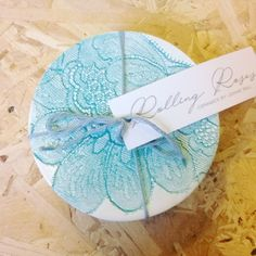 @rollingroses set of coasters back in stock! #lace #porcelain #ceramics #handmade #shoplocal #buyhandmade #shopnotts #Nottingham #itsinnottingham