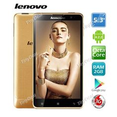 """LENOVO S8 Golden Warrior 5.3\"""" OGS HD MTK6592M 8-Core Android 4.2 Smart Phone 13MP CAM 2GB RAM 16GB ROM GPS P04-LES8"""