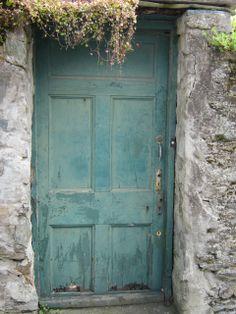 Kinsale, Ireland, many great doors