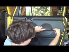 "Jeep Wrangler TJ Update #48 ""Removing & Painting Door Panels"" - YouTube"