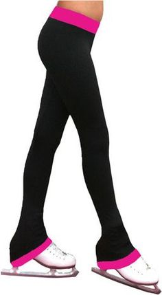 """2"""""""" Contrast Waist Pants Lightly Sanded Poly Spandex Fabric: 87% Polyester, 13% Spandex Made in USA Sizes: CXXS, CXS, CS, CM, CL, CXL/AXS, AS, AM, AL, AXL"""