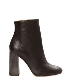Chloe Leather Ankle Boot
