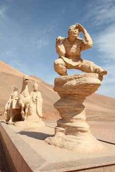 Bezeklik Thousand Buddha Caves, Turpan, China