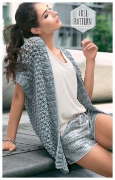 New Crochet Summer Vest Pattern Cardigan Sweaters Ideas Crochet Cardigan Pattern, Crochet Shawl, Knit Crochet, Crochet Patterns, Crochet Shrugs, Crochet Tutorials, Crochet Vests, Knitting Patterns, Sewing Patterns