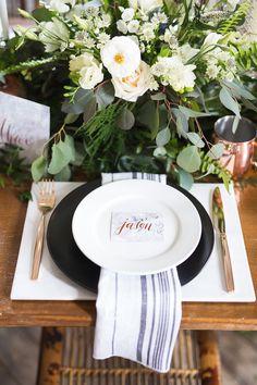 Copper X Barn Wedding Inspiration