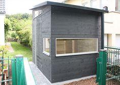 Gartenhaus S anthrazit