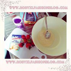 #plumcake for my #breakfast :) +Vitasnella  #vitasnella #yogurt #recipe #now on my #fashionblog www.robyzlfashionblog.com #recipe