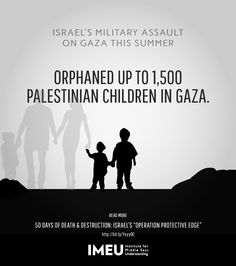 From July 7 to August 26, #Israel's attacks on #Gaza orphaned up to 1500 children. Learn more.