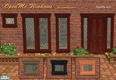 http://thesimsresource.com/artists/Windkeeper/downloads/details/category/sims2-sets-objects/title/openme-doors-and-windows/id/232815/