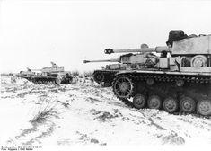 Russia, Panzer IV, winter 1943