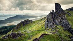 Old Man of Storr - Jonas Lang - This on was taken on Skye, one of the islands of the Inner Hebrides.  Scotland.