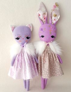 Dolls, animals and easy patterns to inspire a joy of sewing:)