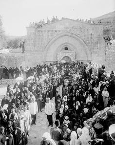 Tomb of Virgin Mary LOC 23914206853 - Category:Jerusalem in the - Wikimedia Commons Palestine History, Israel History, Old City Jerusalem, Jerusalem Israel, Catholic Bishops, Dome Of The Rock, Historical Images, Ancient Architecture, Virgin Mary
