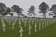 US Military Cemetery in Normandy, France - this was an amazing experience. Normandy Beach, Normandy France, D Day Memorial, Normandy Invasion, Military Cemetery, American Cemetery, Military Operations, France Travel, World War Ii