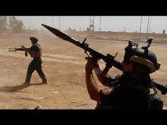 Iraq v ISIS: Army fights islamists with RPGs, heavy weaponry