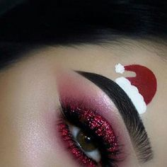 Christmas Eye Makeup Ideas Christmas Eyeshadow Ideas Shanilas Corner Christmas Eye Makeup Ideas 10 Christmas Makeup Ideas You Need To Try This Year. Christmas Eye Makeup Ideas Creative Christmas Party Or Fantasy Eye Mak. Makeup Goals, Makeup Inspo, Makeup Art, Makeup Ideas, Makeup Quiz, Makeup Themes, Kylie Makeup, Uk Makeup, Red Eye Makeup