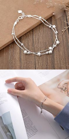 Women Casual Exquisite Fashion Wide Layered Owl Shaped Bracelet WST