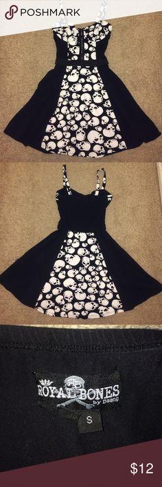 Skull Dress Flirty Skull Dress Dresses