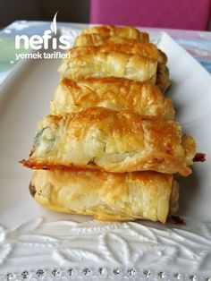 Healthy Breakfast Recipes, Healthy Eating, Healthy Recipes, Turkish Recipes, Ethnic Recipes, Spring Rolls, Hot Dog Buns, Bakery, Brunch