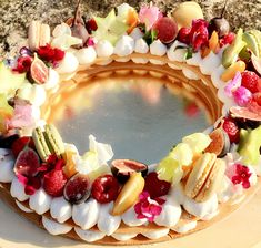 Beautiful dessert!