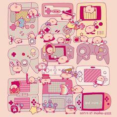 A great evolution Retro, Kirby Character, Sailor Moon, 8bit Art, Nintendo Characters, Dibujos Cute, Gaming Accessories, Kawaii Art, Video Game Art