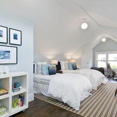 attic bedroom  #Anthropologie #PinToWin