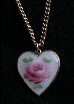 """Vintage Sarah Coventry Jewelry """"White Hearts N' Flowers"""" Necklace Chilcren   eBay"""