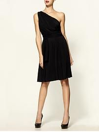 Halston Heritage one shoulder dress