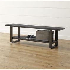 Welkom Hall Tree Bench - Crate and Barrel