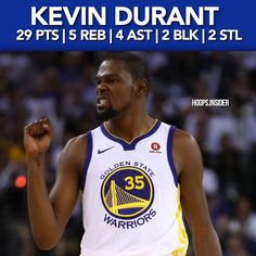 #KevinDurant with a great performance in a win against the #Sixers #NBA